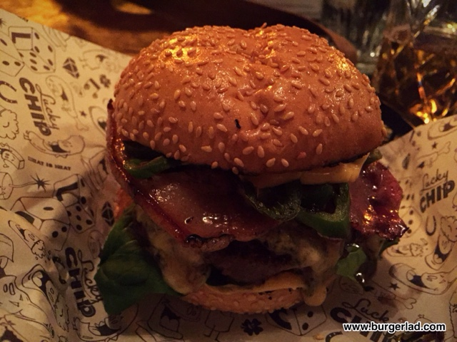 Lucky Chip Burgers and Wine El Chappo