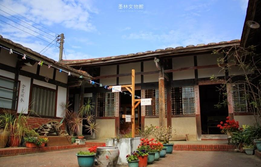 台南後壁墨林文物館,藍染熊手作坊-9