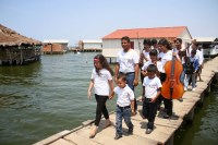 Niños y niñas del Núcleo Santa Rosa de Agua, perteneciente al Municipio Coquivacoa de Maracaibo