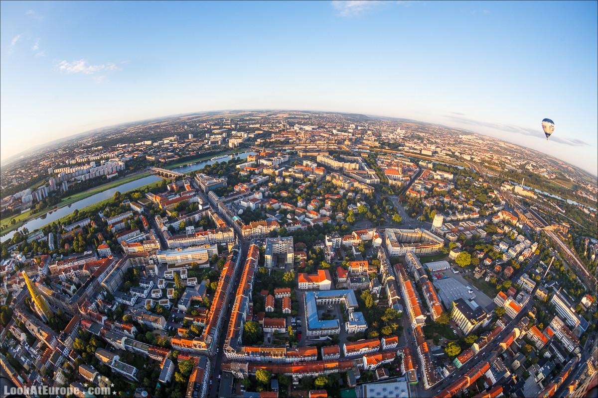 Как я стал графом, пролетев на воздушном шаре над Дрезденом