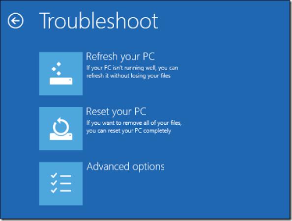 mengembalikan komputer yang rusak dan error kembali ke pngaturan awal