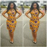 asoebi style short gown 2017 new