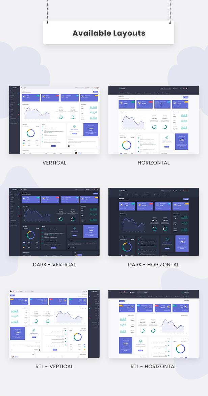 Veltrix - Vuejs Admin & Dashboard Template - 2