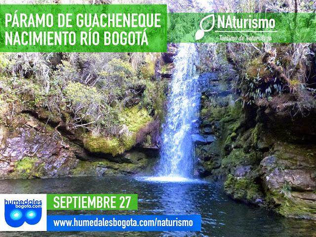 Páramo de Guacheneque, caminata