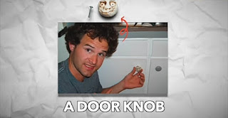 From Fish pen to a door knob but Kyle never gave up