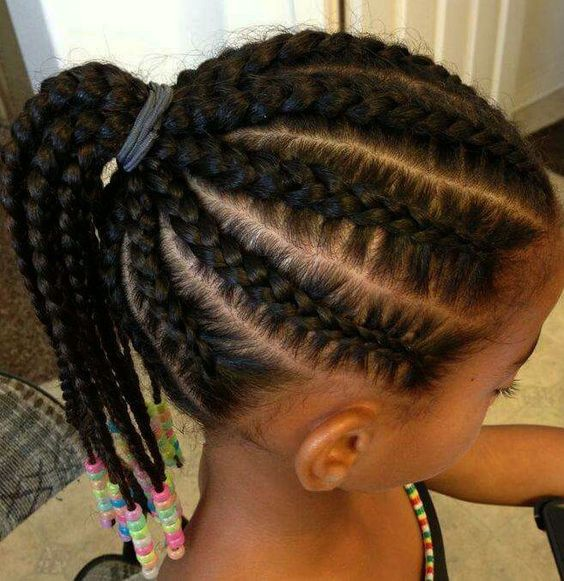 2018 Black Girls Braided Hairstyles - Little Black Girls Hairstyles 4