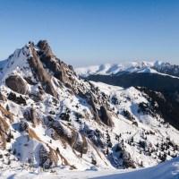 Zi de iarnă în Munţii Ciucaş