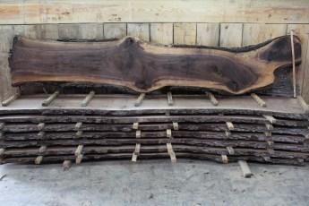 "Walnut 379-1  2"" x 29-14"" Wide x 12' Long  Kiln Dried"