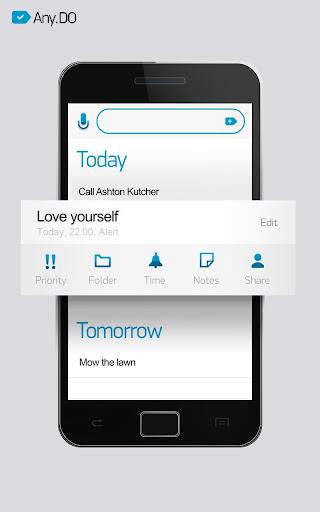 *最直覺好用又最好看的待辦事項:Any.DO To Do List (Android / iPhone App) 5