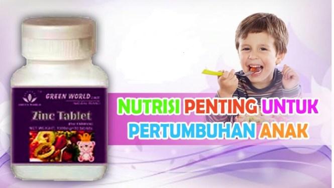Zinc Tablet For Children Suplemen Penambah Nafsu Makan
