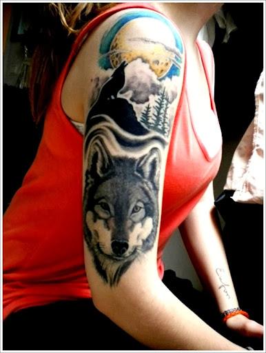 wolf tattoo ideas