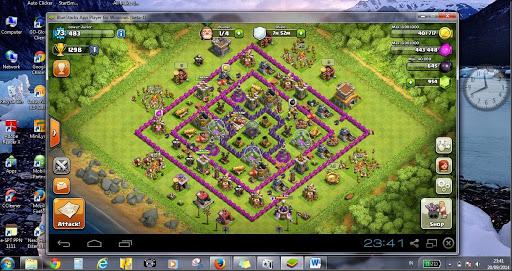 cara memainkan game clash of clans di komputer laptop