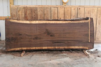 "507 Walnut -5 12/4  x  46"" x  40"" Wide x 10' Long"