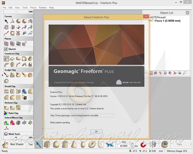 Geomagic Freeform Plus 2016