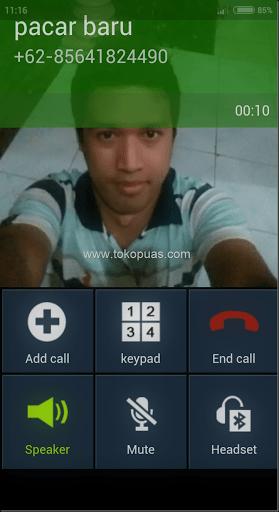 trik mudah membuat panggilan palsu android