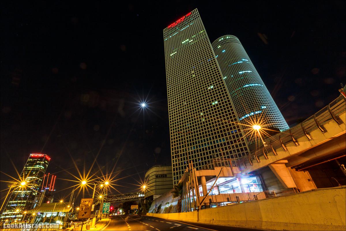 Ночной Тель-Авив   Tel-Aviv nights   LookAtIsrael.com - Фото путешествия по Израилю