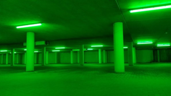 Green light parking
