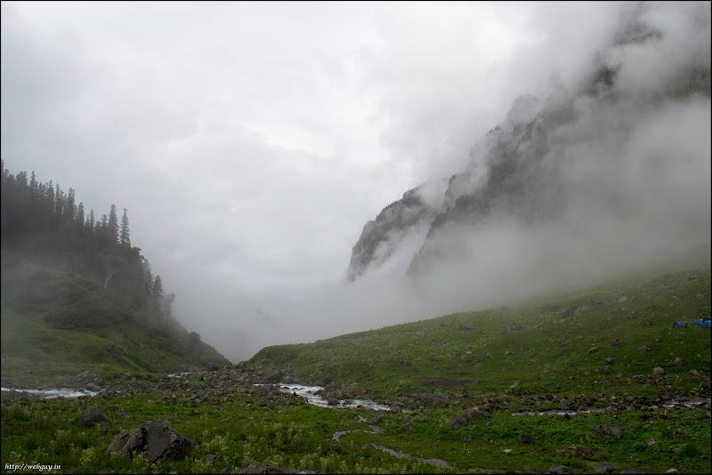 Foggy Balu a Gera - Hampta Pass Trekking