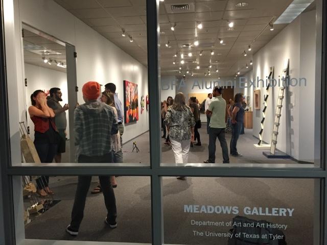 University of Texas at Tyler BFA Alumni Art Show