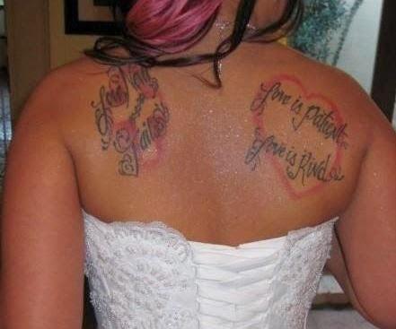 Bible Verse Tattoos