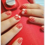 trendy nail art designs for short nails 2015