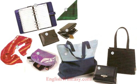 Accessories Books - Vestimenta, Fashion - Dictionary
