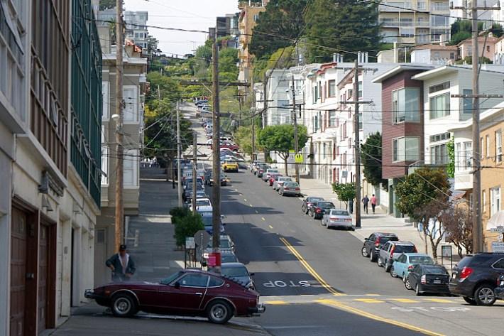 Subiendo hacia la calle Lombard, San Francisco