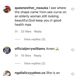 """""""We Now Understand How You Get This Your Curves""""—Fans React As Destiny Etiko Flaunts Her Mom's Picture"""