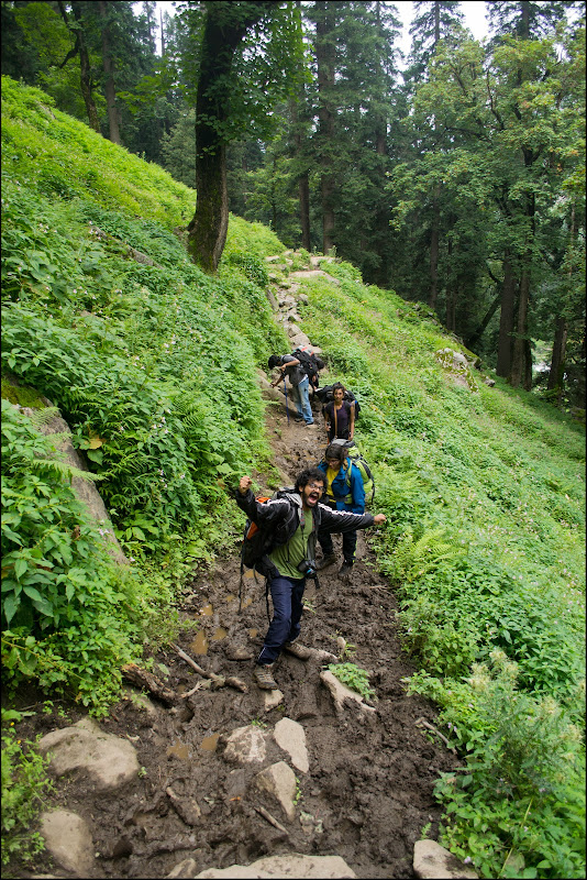 hampta pass trekking photo