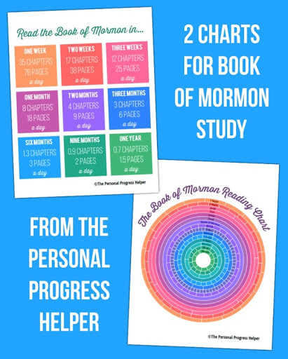 Reading Mormon Book Progress