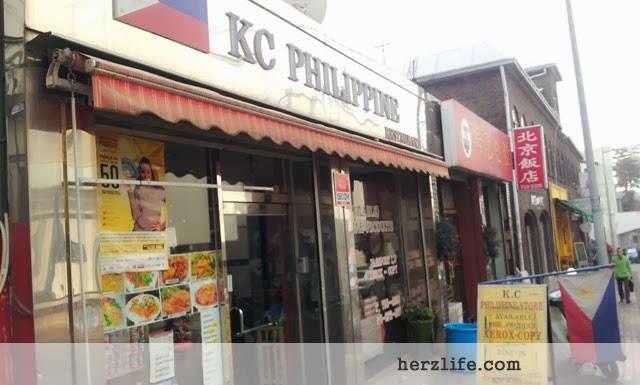 Shopping at KC Philippine Store near the Philippine Embassy, Seoul