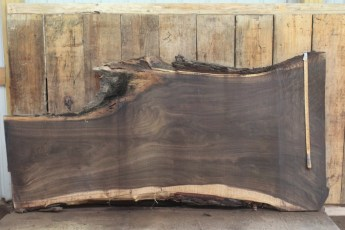 "463 Walnut -8 2 1/2"" x 37"" x 27"" Wide x 8' Long"