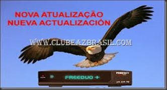 FREESKY FREEDUO PLUS (   ) NOVA ATUALIZAÇÃO