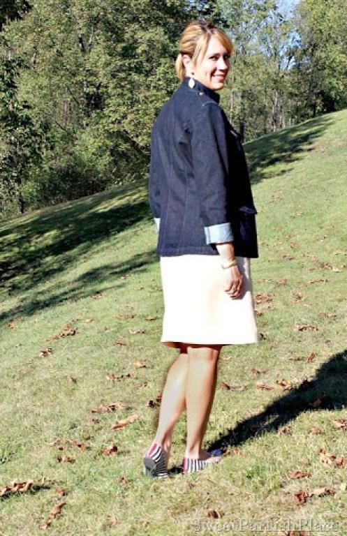 denim-jacket-red-top-linen-skirt2