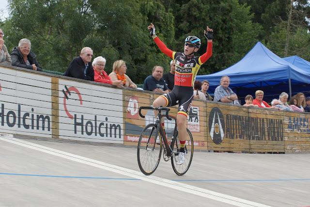 Nicolas Wernimont, winnaar pistechallenge Rumbeke