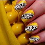 gorgeous yellow nail designs for 2015