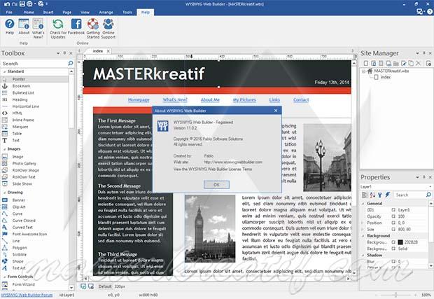 WYSIWYG Web Builder Full Version