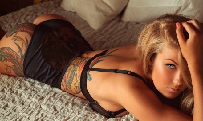 Hot Girl Tattoos