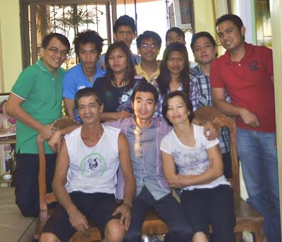 John Michael Alcazar's Family (Bulacan) - February 3