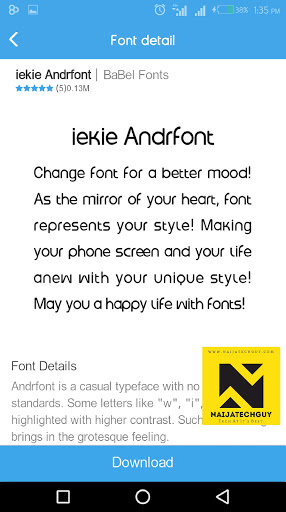 Tecno Font App Updated On All Supported Devices 4