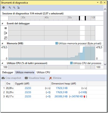 FIGURA 6 thumb11 - Parte uno: strumenti per il debug in Visual Studio 2015