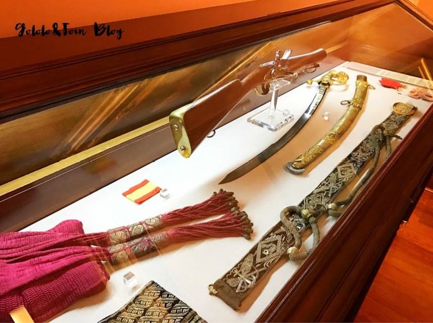 Armas del museo Naval de Madrid