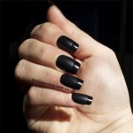 Black Nail Art Designs Trends 2017