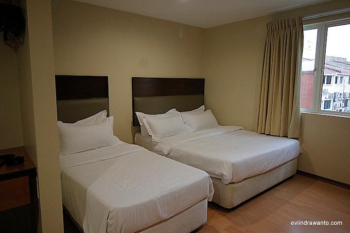 Rekomendasi hotel di melaka malaysia - tidur double dan singgle