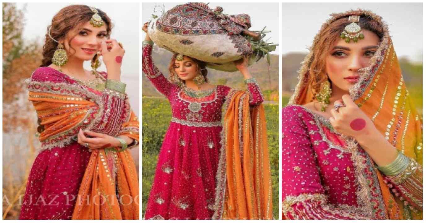 Actress Nazish Jahangir Desi Style Beautiful Photoshoot
