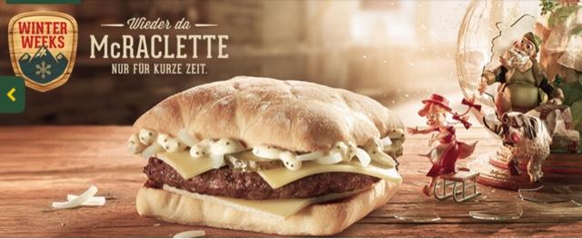 McDonald's McRaclette