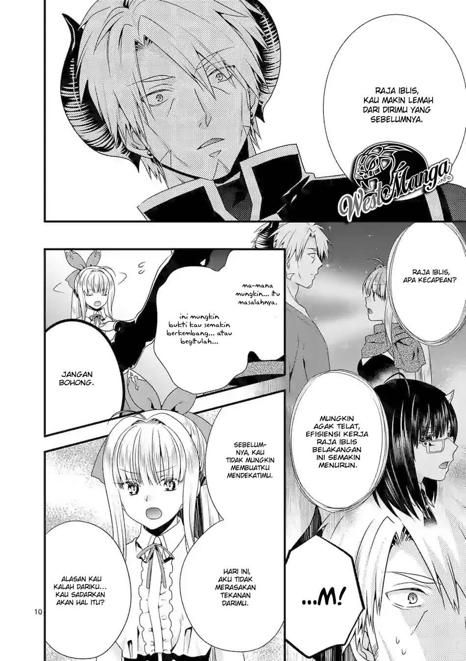 Maou desu Onna Yuusha no Hahaoya to Saikon Shita no de Onna Yuusha ga Giri no Musume ni Narimashita: Chapter 30 - Page 11