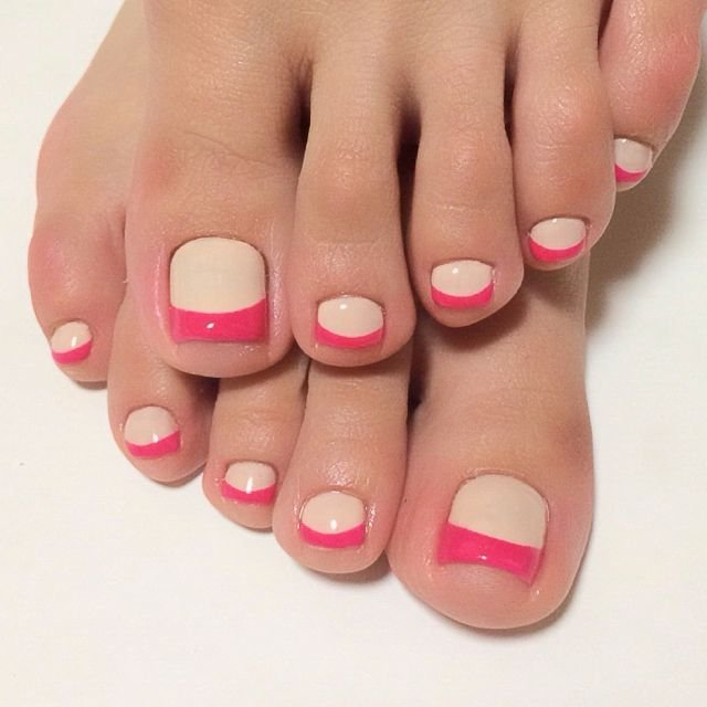 simple nail art designs for toes and toe nail design