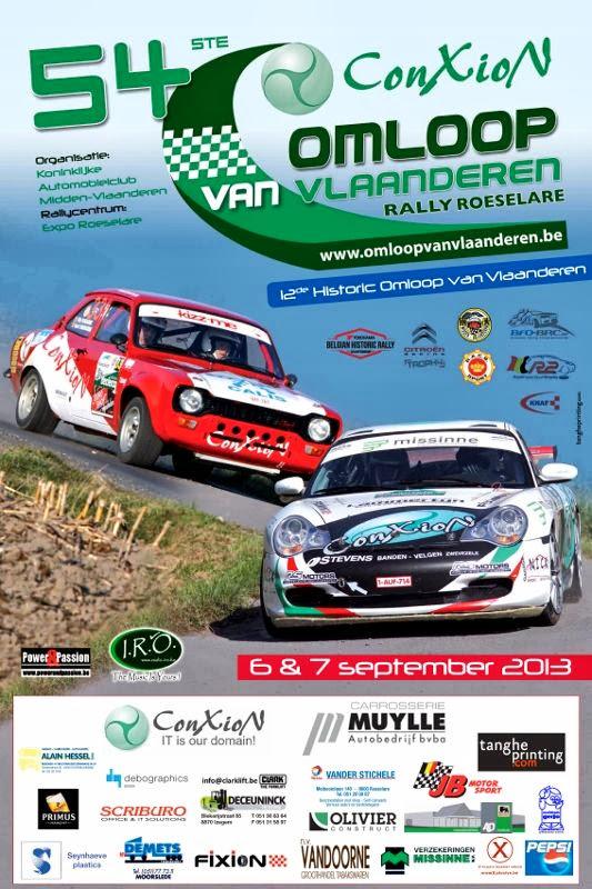 Affiche 54e Omloop van Vlaanderen Rally Roeselare
