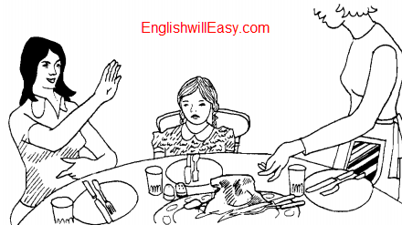 At lunch – Situational Dialogues – How to say